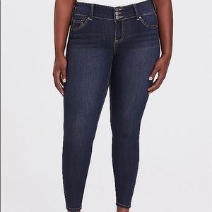 Jeggings super stretch dark wash